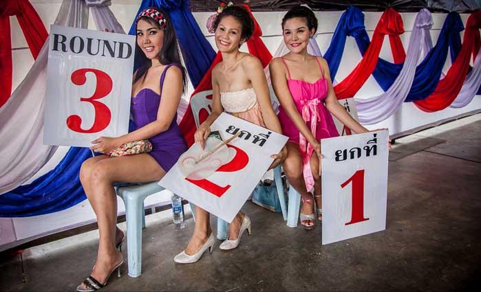 Ladyboys en la prisión de Bangkok