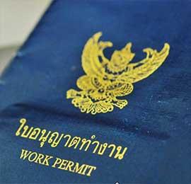 Permiso de trabajo Tailandia