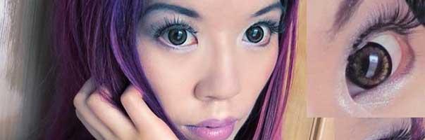 Lentillas de pupilas dilatadas en Tailandia