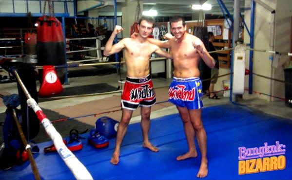 Rompo Gym Bangkok entrenar Tailandia