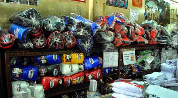 Action Zone Bangkok comprar guantes de boxeo