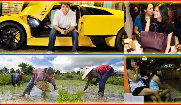 Clases sociales en Tailandia Lamborghini