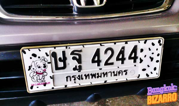 Matrícula Tailandia