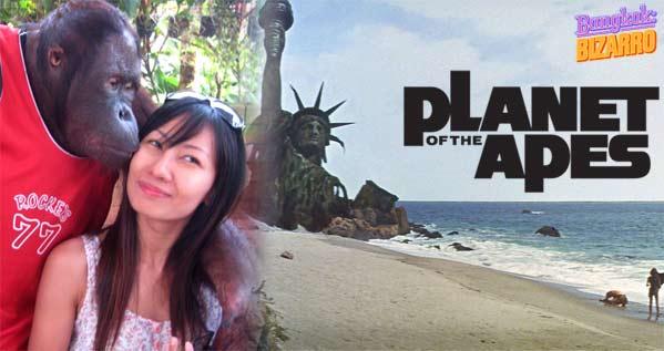 El planeta de los monos Tailandia