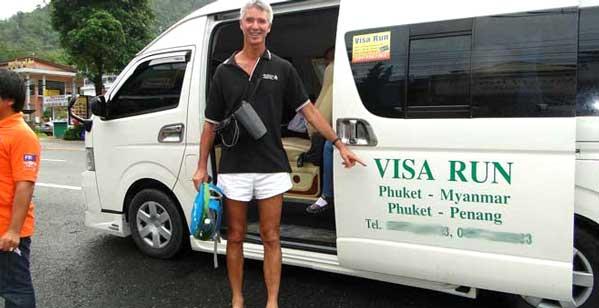 Visa Run de Tailandia
