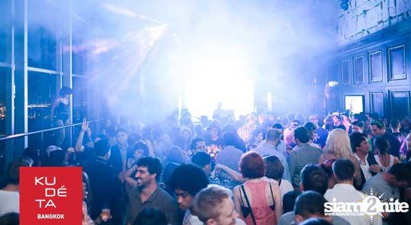 La fiesta en Kudeta Bangkok