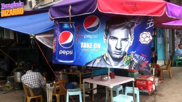 Messi en Birmania
