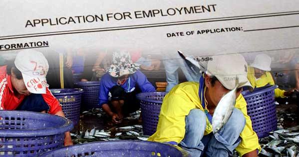 Birmanos trabajadores Mahachai Tailandia