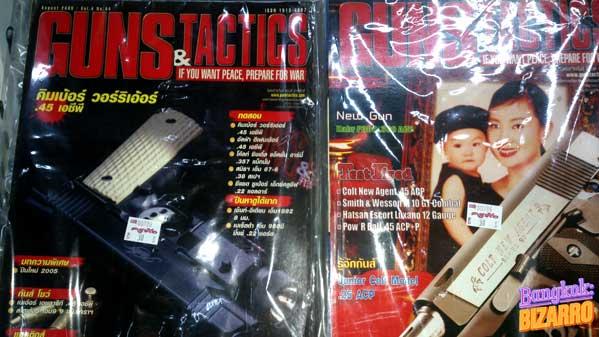 Gun&Tactics revista tailandesa