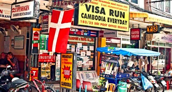 Visa Run en Camboya