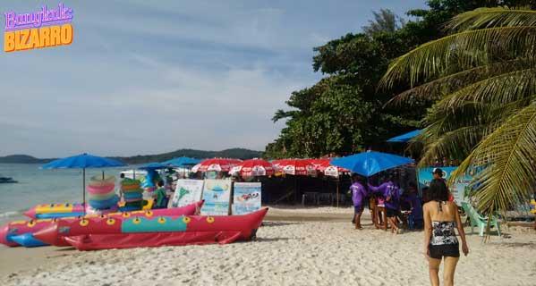 Hamacas playa Tailandia