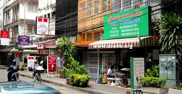 Masaje con paja Bangkok