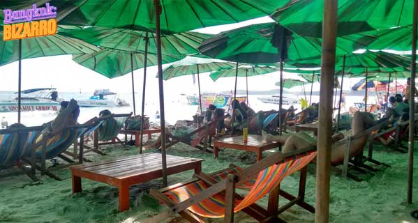 Koh Samed hamacas playa Tailandia