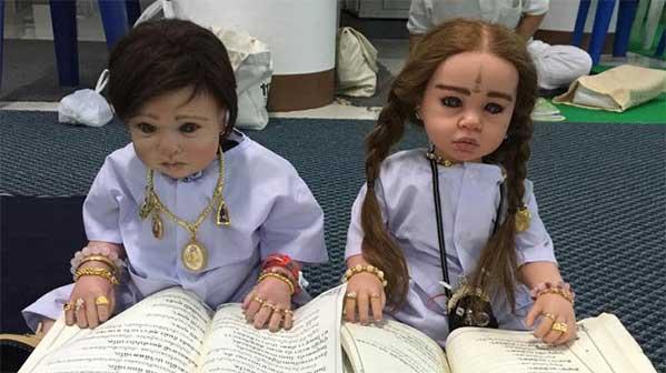 look thep muñeco Tailandia
