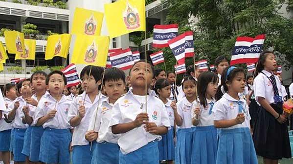 Escuela nacionalismo tailandia