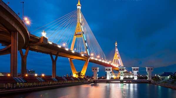 Puente Rama 9 Bangkok