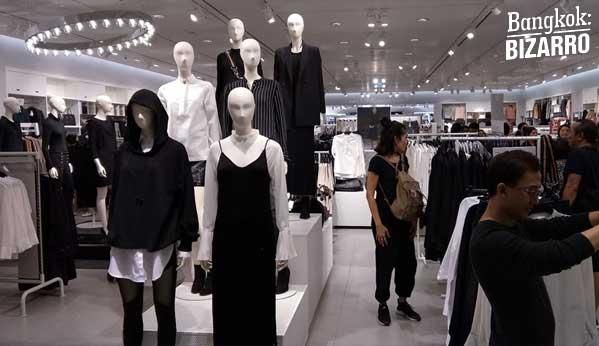 H&M Tailandia luto