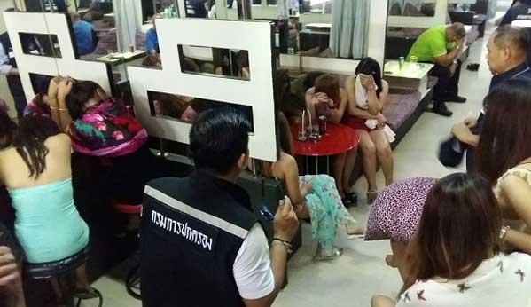 Redada burdel Pattaya