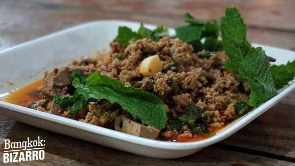 Laabped comida callejera tailandia