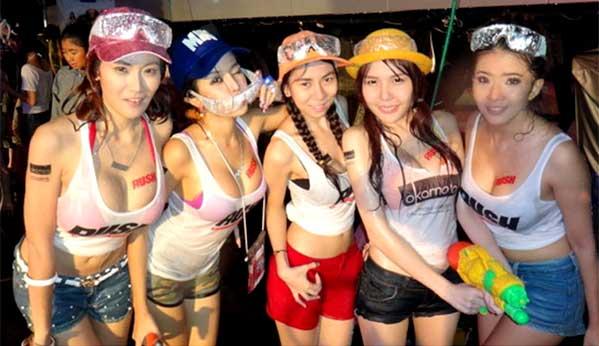 Songkran 2017 chicas