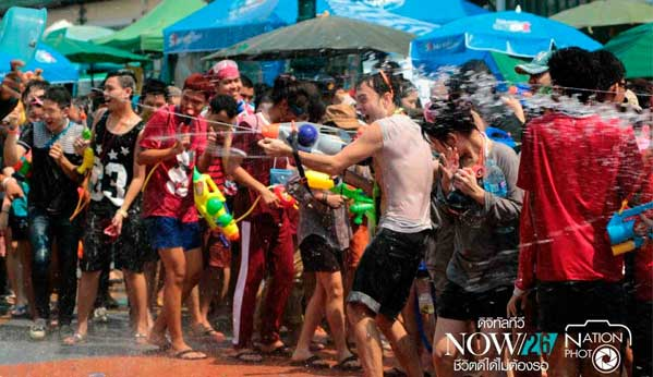 Songkran 2015 Khaosan