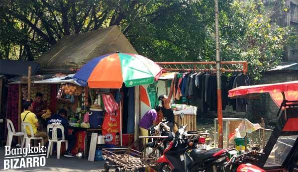 Barrio pobre Manila
