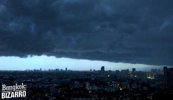 Lluvias Bangkok monzón