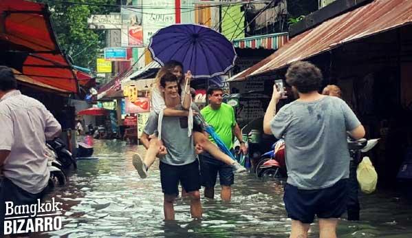 Inundaciones Bangkok