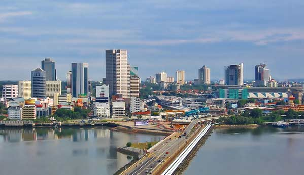 Frontera Malasia Singapur