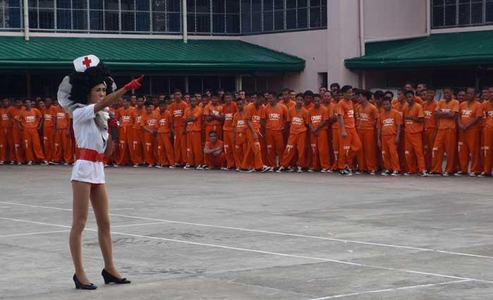 Ladyboys en prisión Tailandia