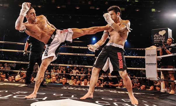 David Calvo Currito pelea en Thai Fight