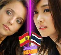 Tailandesas y españolas