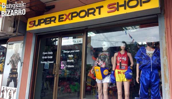Super Export Tailandia comprar guantes muay thai bangkok