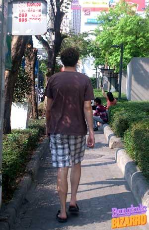 Pantalones cortos en Tailandia
