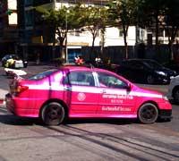 Taxi en Bangkok