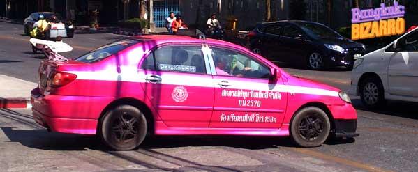 Taxi Tuning en Tailandia Bangkok