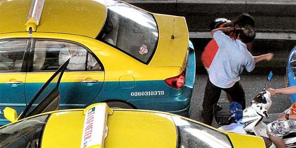 Taxista violador en Tailandia