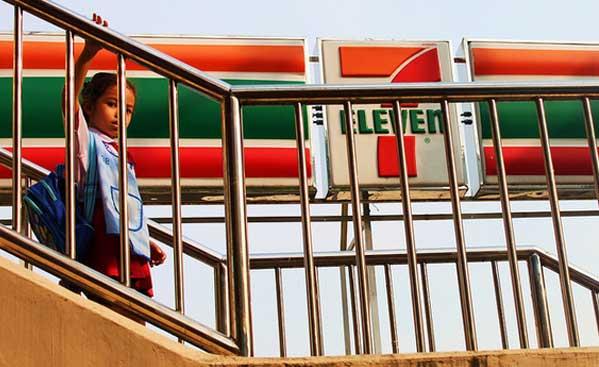 7 eleven en Tailandia