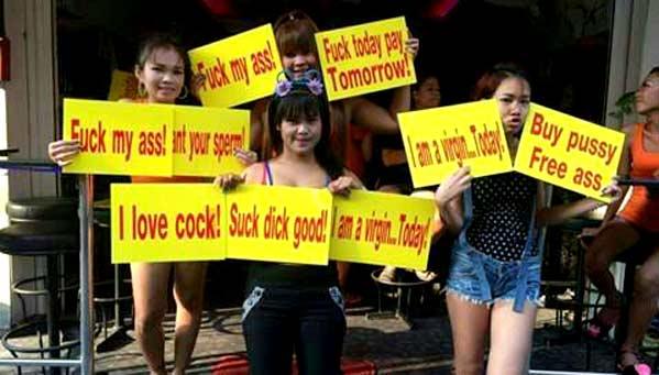 Putas Tailandia en Pattaya