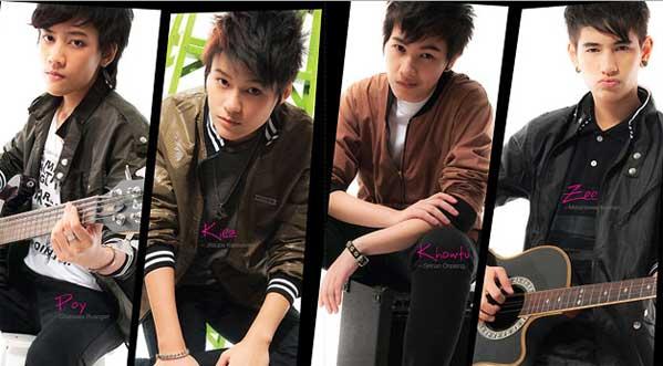 Tomboys masculinos Tailandia