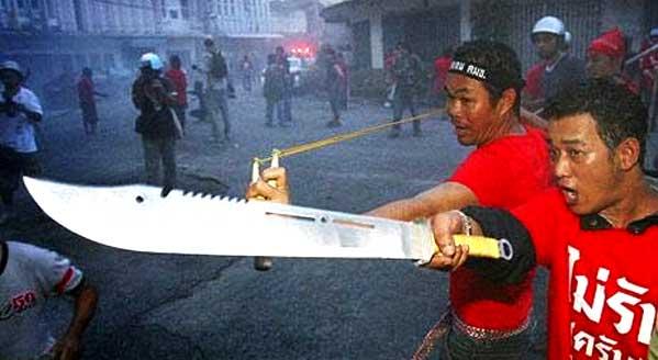 Violencia en Tailandia Bangkok