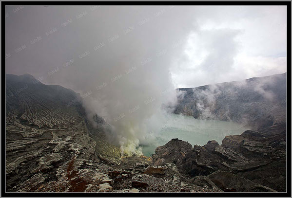 Volcán Indonesia Kawa Ijen