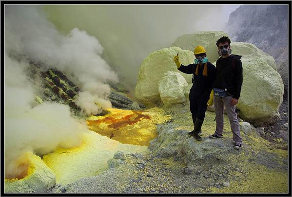 Volcán Kawa Ijen Indonesia