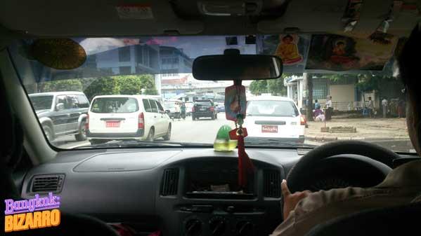 Taxi en Rangún