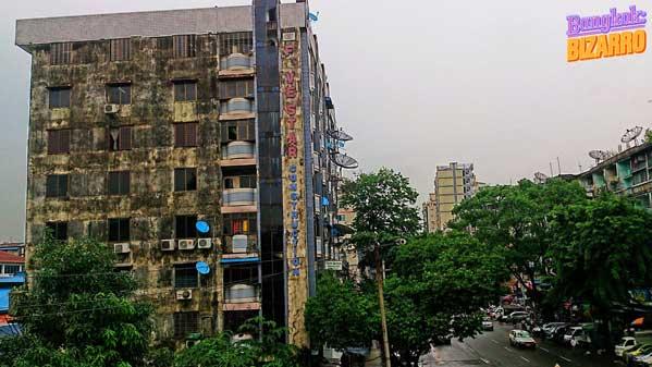 Edificios coloniales Rangún