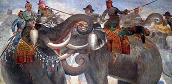 Batalla entre Birmania y Siam
