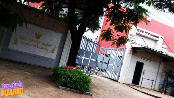 Embajada de Tailandia en Rangún