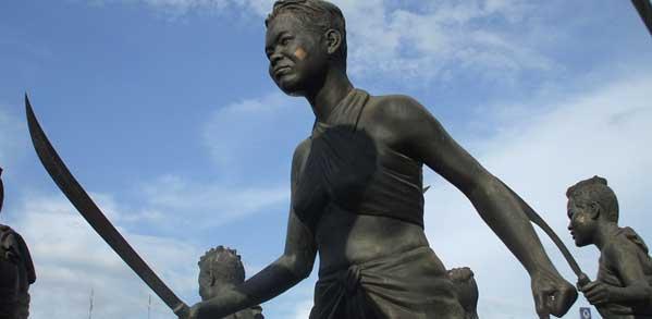 Mujeres guerreras Siam