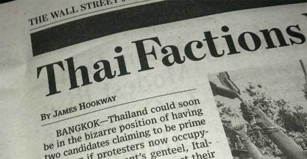 Wall Street Thailand Bangkok Bizarro