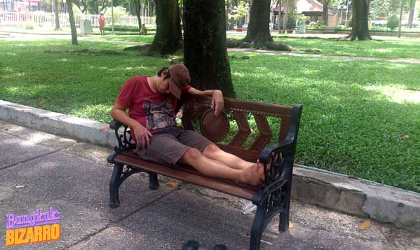 gente dormida en Vietnam